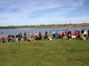 Charity Pack Walk Pitsford 2012